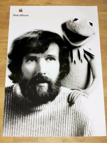 Jim Henson//24 x 36 by Steve Jobs 61 x 91 Cm Apple Think Different Poster