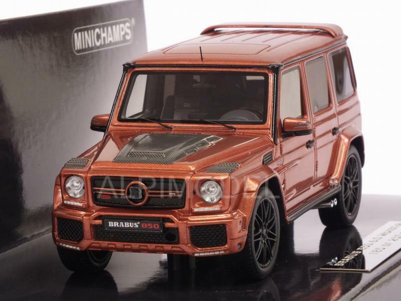 Braautobus 850 6.0 Biturbo Wideestrella AMG G63 2016 Copper Me 1 43 MINICHAMPS 437032402