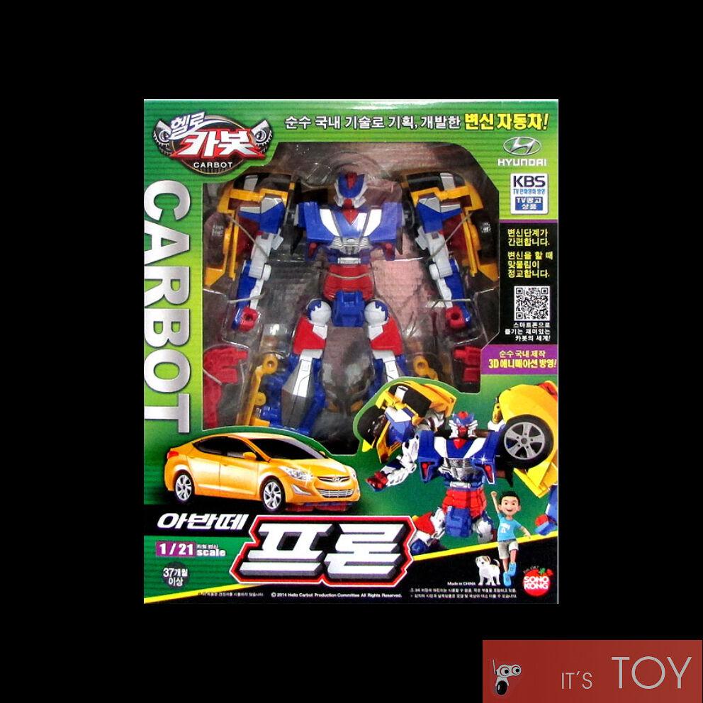 Hello Carbot Avante Prone Pron Transformers Transforming figure Hyundai Elantra