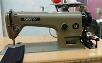 Brother Industrial Sewing Machine with Table and Lamp