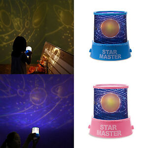 Kids Child Bedroom LED Solar System Star Projection Lamp Projector ...