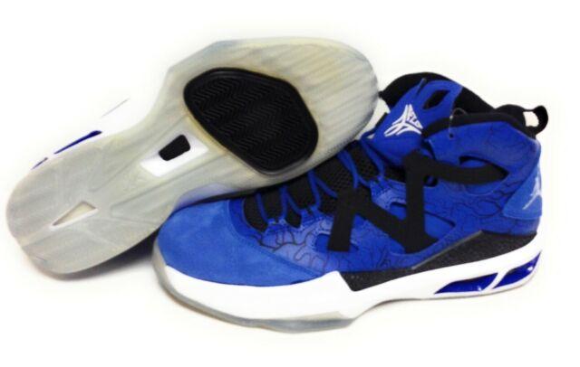 more photos 0c662 37f09 Mens Nike Jordan Melo M9 551879 401 Game Royal Blue White Black Sneakers  Shoes