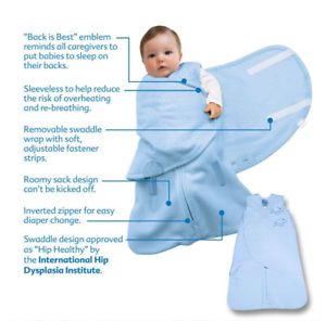 2 In 1 Newborn Halo Sleep Sack Swaddle Wearable Blanket