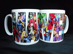 Marvel-comic-Super-Heroes-Taza