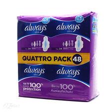 Always Ultra Long 24 Quattro Pack 48