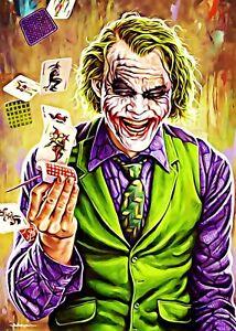 Joker Cartes Signs Metal Plaque Home Deco Cafe Wall Bar Pub Tiki