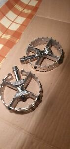 Bmx Hutch Pro size Pedals 9/16 original 1980s old school bmx
