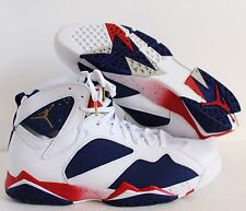 NIKE AIR JORDAN 7 RETRO 2016 OLYMPIC ALTERNATE BASKETBALL SZ 14 [304775-123]