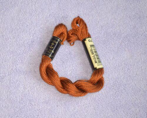 ANCHOR coton perlé Filetage 5 g diverses couleurs Nº 5 21 M