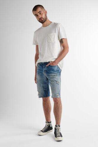 Hudson jean shorts sz figu wash 32 distressed blue dixon men/'s denim shorts