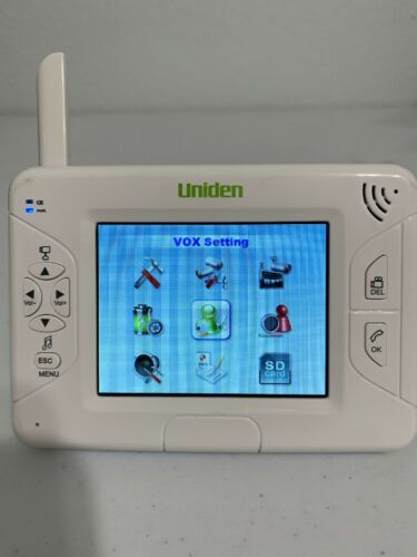 Uniden Baby Monitor Ubw2101c 3.5 Inches Monitor And Charger Only