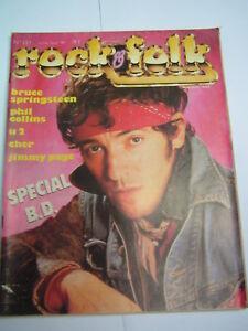 Rock-amp-Folk-1985-221-BRUCE-SPRINGSTEEN-CHRIS-ISAAK-CHER-KID-CREOLE-PHIL-COLLINS