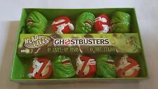VINTAGE NEW GHOSTBUSTERS HEAD LITES TOY SET SLIMER LOGO 10 STRING LIGHTS NECA