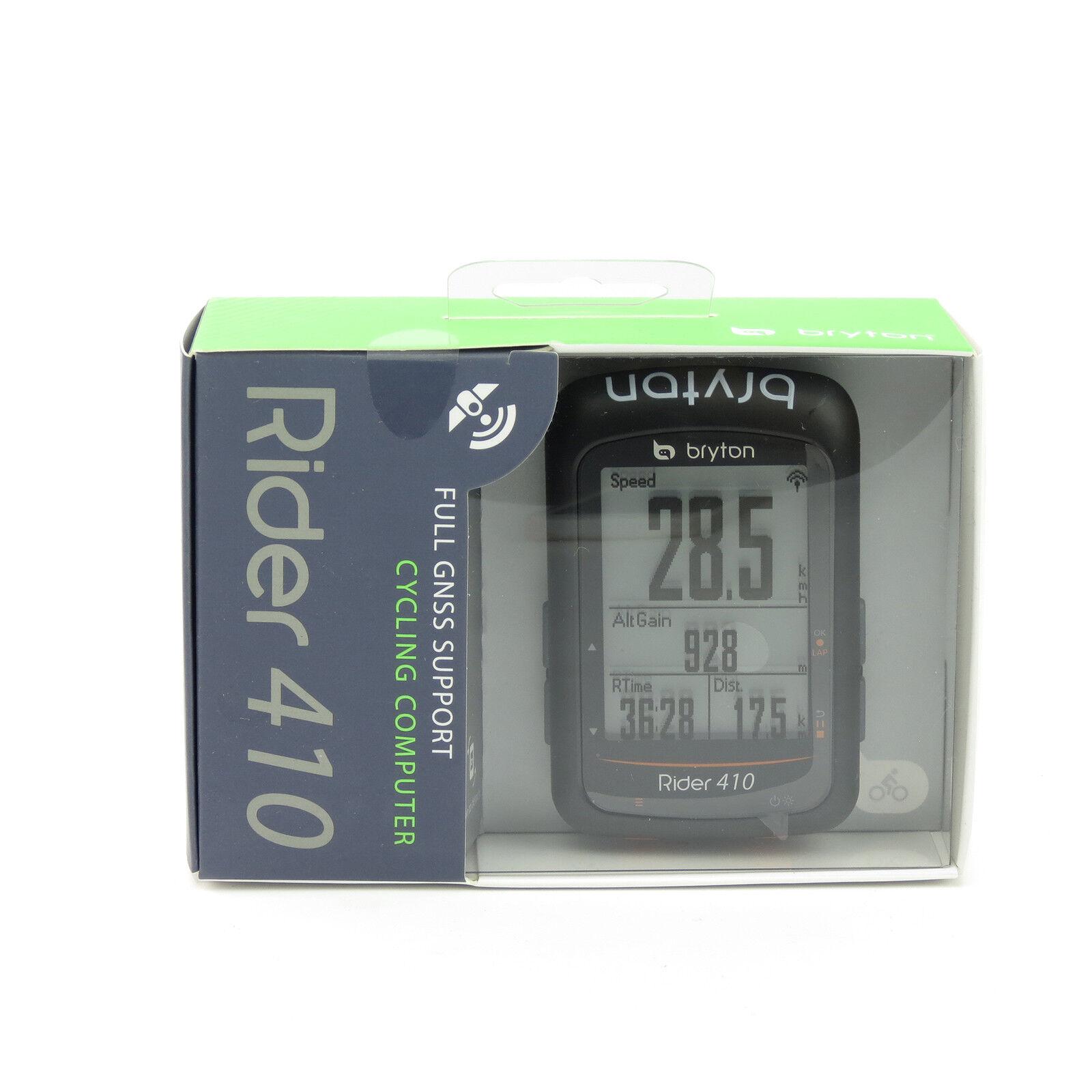 Bryton jinete 410T GPS ANT + BLE Bicicleta Ciclismo Computadora & HR & Sensor De Cadencia