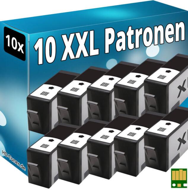 10x CHIP PATRONEN für HP-364XL 5510 5514 5515 5520 5522 5524 6510 6520 7510 7520