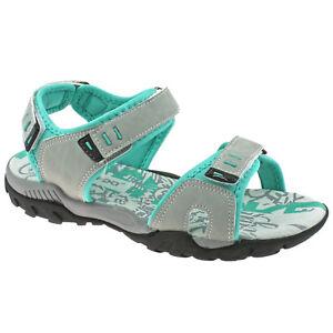 9e6fcac051ec Image is loading Ladies-PDQ-Adjustable-Sports-Walking-Sandals-Light-Grey-