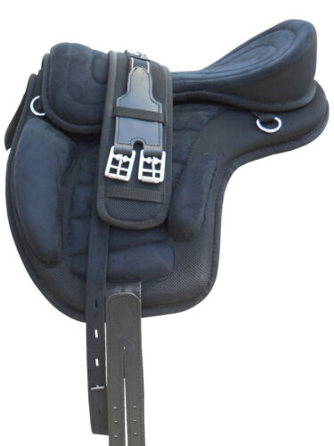 New Free-max Saddle Horse Synthetic English Saddle for horse tack FREE SHIPPING