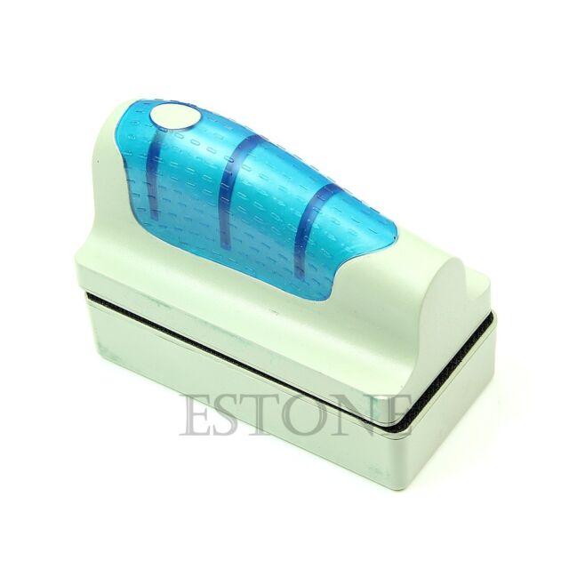 Hot Magnetic Aquarium Fish Tank Clean Brush Glass Scraper Cleaner Floating