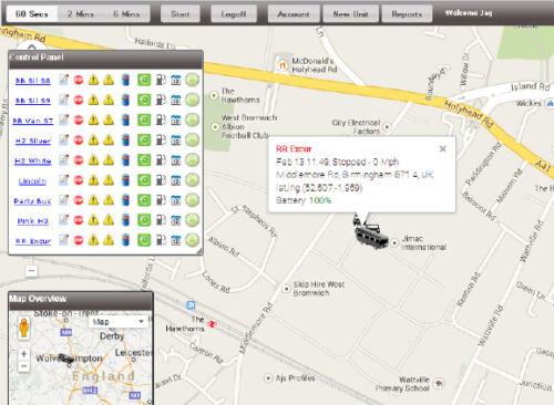 Autoinstalación sistema de seguimiento Inc Tracker seguimiento en vivo de la UE y Tarjeta Sim Uk//EU
