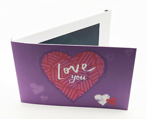 Recordable-Video-Love-You-Card-7-039-039-HD-Screen-256mb