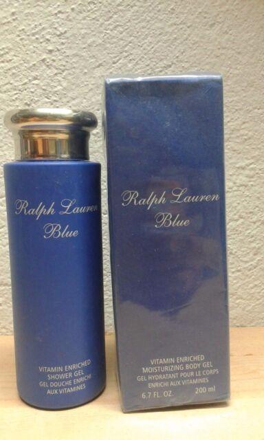 RALPH LAUREN POLO BLUE SHOWER GEL WOMAN 200 ML DISCONTINUED!!!