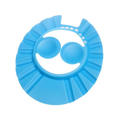 Soft Baby Adjustable Shower Cap Kids Children Shampoo Bath Bathing Hair Shield