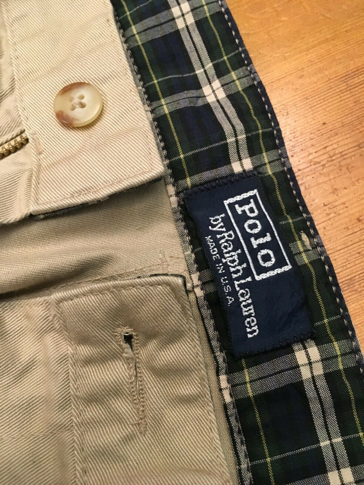 VTG 80s NOS Polo Ralph Lauren Classic Golf Pants … - image 3