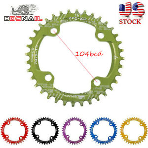 US-30-42t-104bcd-MTB-Bike-Narrow-Wide-Single-Chainring-Chainset-BMX-Sprockets