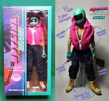Hotline Miami Biker Figure (1/6 Scale 12'') Two Removable Heads & Weapon Sets
