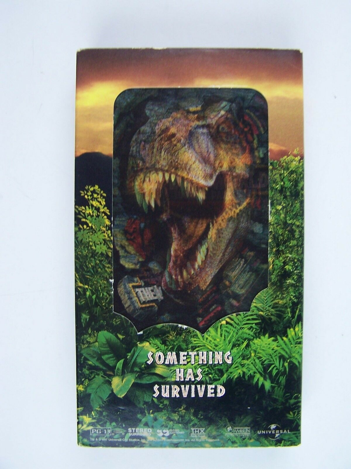 The Lost World: Jurassic Park (VHS, 1997) 96898309837