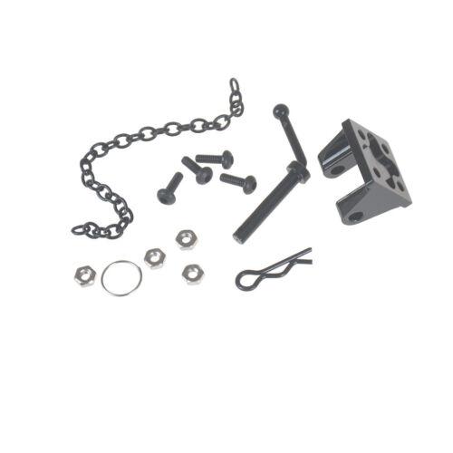 Metal Tow Shackle Trailer Hook for 1:10 RC SCX10 TRX-4 Rock Crawler Car/'D90 D XF