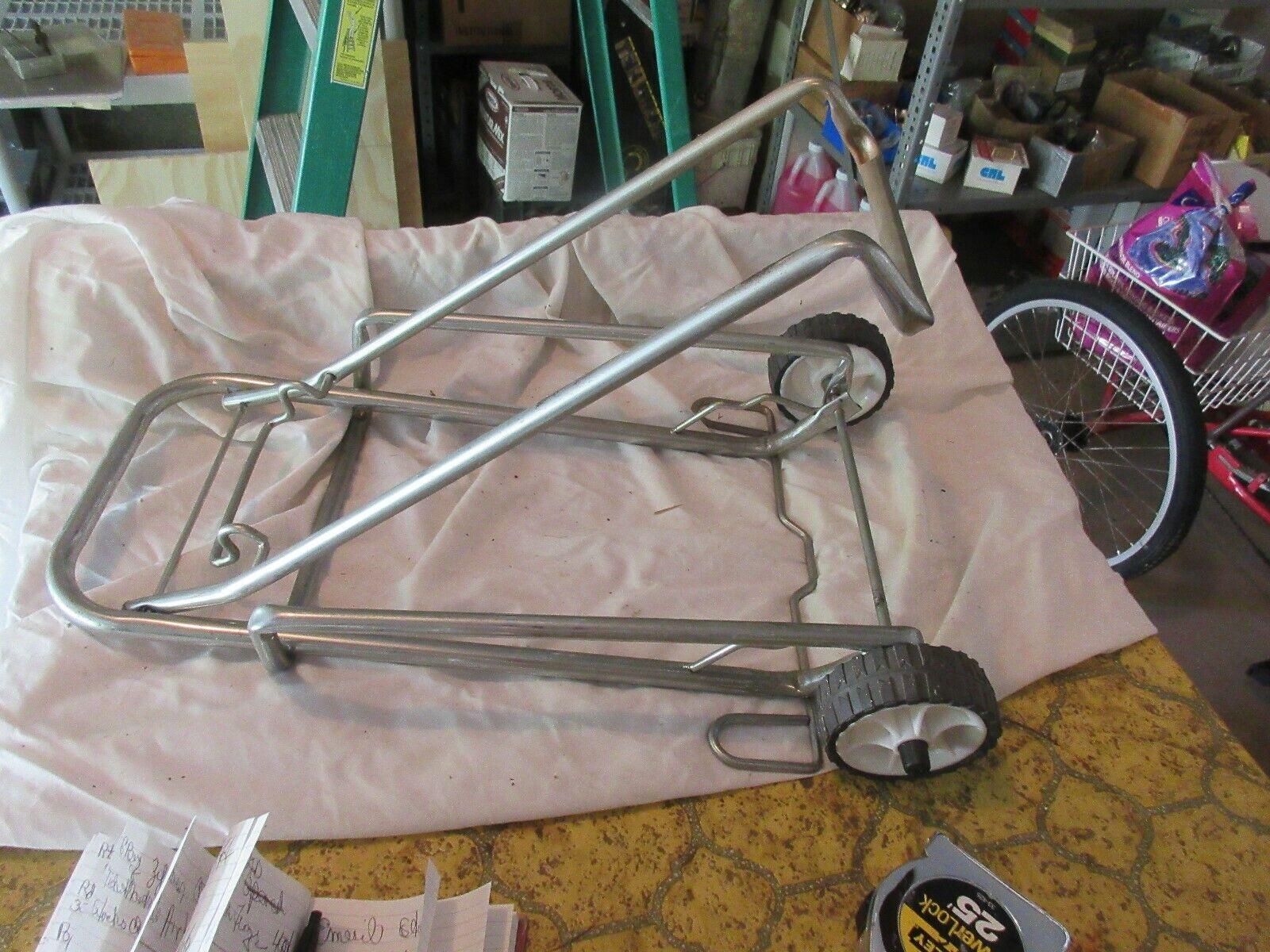 """Hand Cart , Folding 2 Wheel Dolly , 21"""" Closed , 3 1/2"""""""