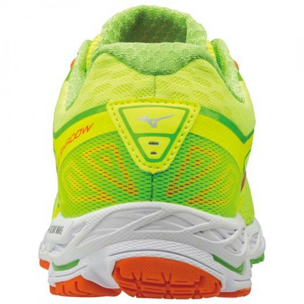 MIZUNO Running shoes WAVE SHADOW J1GC1730 Yellow × Orange × Green Free shipping