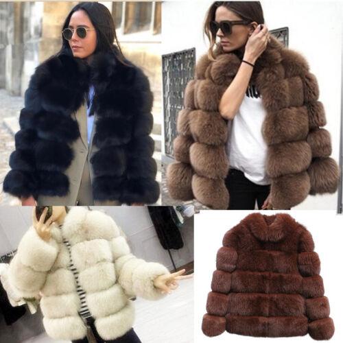Stivali Invernali Bomber Jacket Coats soffice pelliccia Outwear cappotto Caldo parka UK