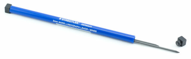 Staedtler Mars Carbon 2mm 4H Drawing Lead for 2mm Lead Holders 2pc