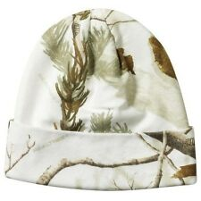 """REALTREE AP SNOW CAMO KNIT STOCKING CAP OR BEANIE, HAT 12"""""""