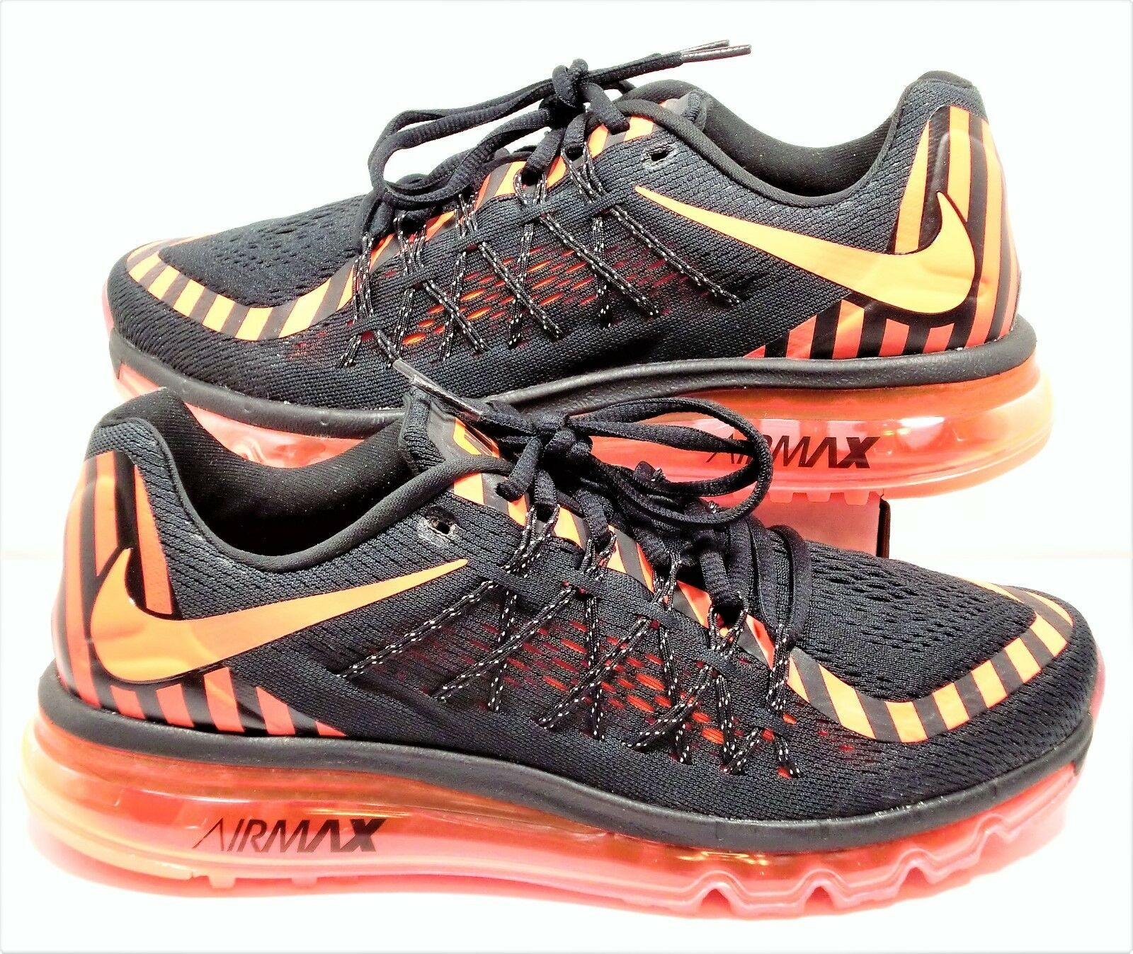 Nike Air Max 2018 Black & Hot Lava Pink Women Running Shoes Sz 7 NEW 746683 011 Great discount