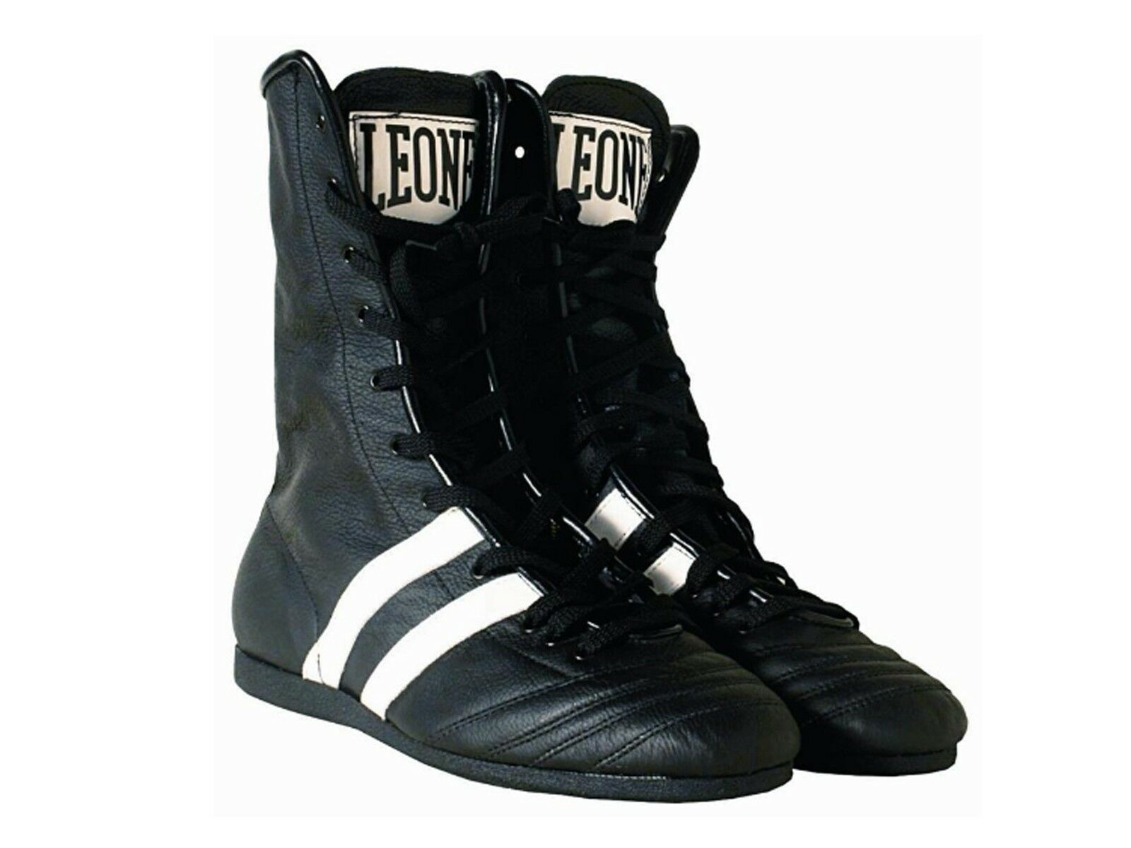 Schuhe UOMO LEONE  CL186 01 STIVALETTI BOXE NERO