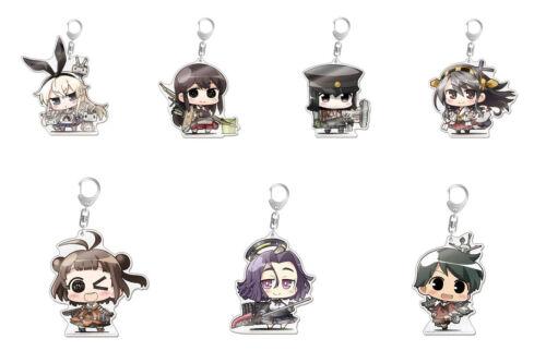 Kantai Collection Kancolle Shimakaze Minicchu Acrylic Big Key Chain Holder Phat