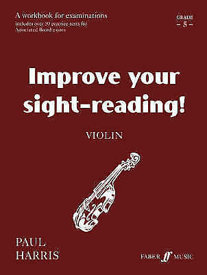1 of 1 - Violin: Grade 5 by Paul Harris (Paperback, 1998) Improve your sight-reading. G/C
