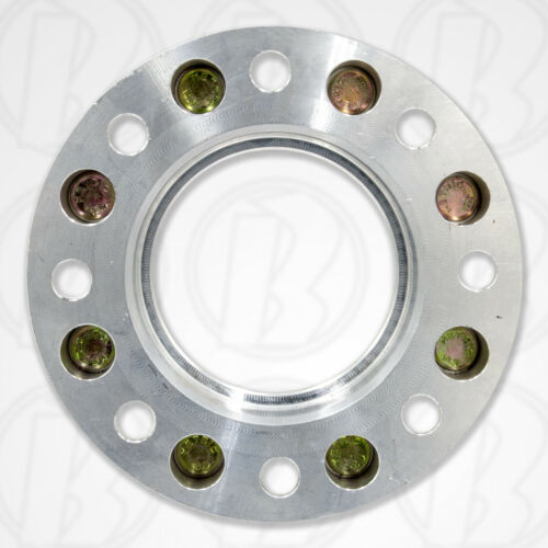 "2 USA MADE 8x6.5 to 8x180 mm CHEVY HUB CENTRIC Wheel Adapters 1.5/"" Spacers"