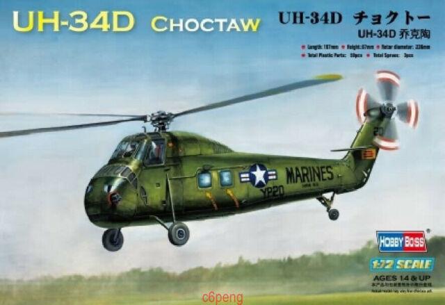 Hobbyboss Model Kit 1/72 87222 UH-34D Choctaw Hot