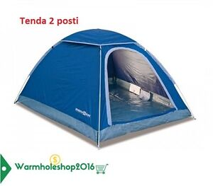 TENDA-2-POSTI-CAMPING-CAMPEGGIO-CANADESE-SACCA-TRASPORTO-ZANZARIERA-MARE