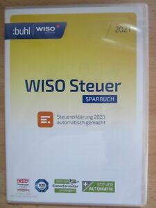 WISO Steuer Sparbuch 2021 für die Steuererklärung 2020 | eBay
