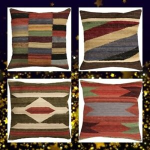 Modern-style-Multi-color-Handmade-Kilim-Cushion-Covers-Spring-amp-Summer-Sale