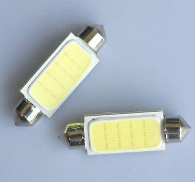 10x 42mm HPC COB 3 WATT LED Soffitte Innenraumbeleuchtung Beleuchtung LED Lampe