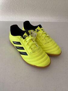 prefacio Desalentar Isla Stewart  Adidas Copa 19.4 In J Kids Indoor Soccer Shoes Solar yellow/Black F35451  SIZE 3   eBay