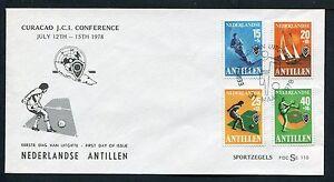 Nederlandse Antillen FDC E110 _ 3 M, code -, blanco ;