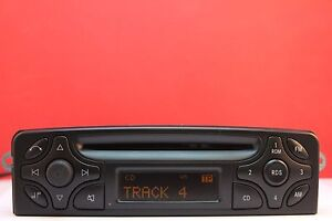 MERCEDES-AUDIO-10-BECKER-BE-6021-CD-RADIO-PLAYER-DECODED-C-CLASS-CLK-VITO-VIANO