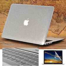 "3in1 Glitter Marble Wood Leather Matte Case for MacBook Air Pro 11""13"" 15""Retina"